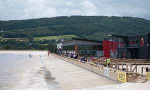 Surf Snowdonia man made wave development in North Wales, UK; the redeveloped centre is now to be known as Adventure Parc Snowdonia.