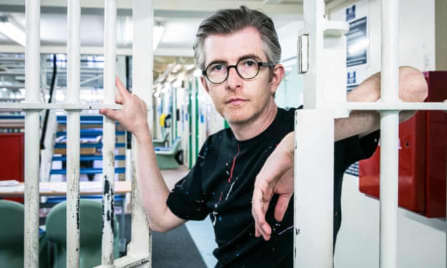 Gareth Malone in Aylesbury prison.