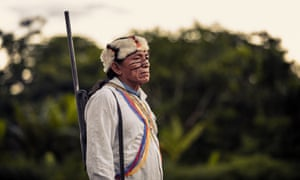 Taish, the Shaman in Wayusentsa, Ecuador