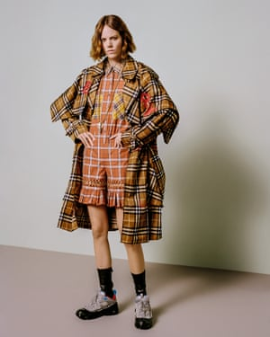 Reworking the check. Tisci's Burberry brings the classic to the radar of a new generation.