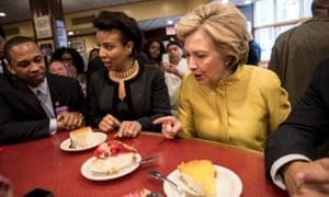 Clinton in Brooklyn