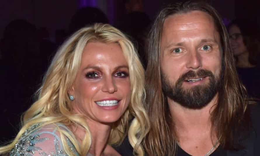 Britney Spears and Max Martin in 2017.
