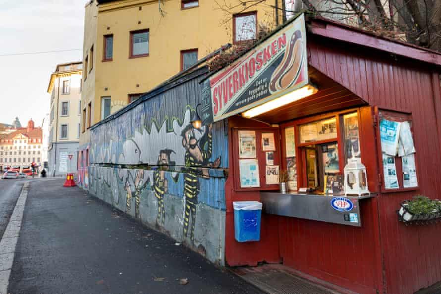 Syverkiosken in Oslo, Norway