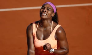 Serena Williams will be going for her third French Open title when she faces Lucie Safarova in Saturday's final.