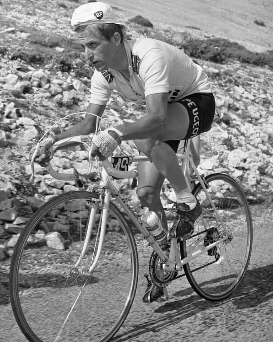 Tom Simpson in the 1967 Tour de France