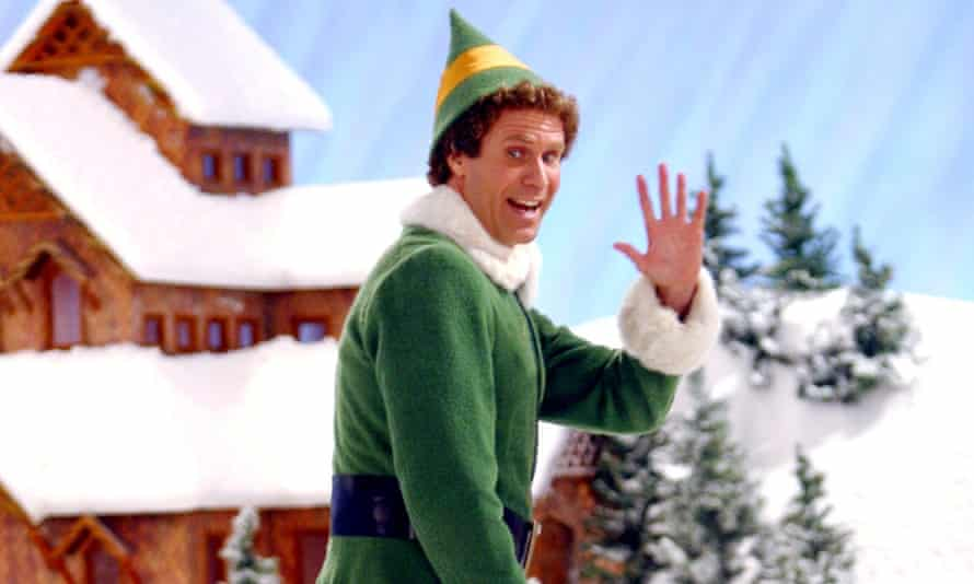 'Elf' Film - 2003No Merchandising. Editorial Use Only. No Book Cover Usage Mandatory Credit: Photo by c.New Line/Everett / Rex Features (436295b) Will Ferrell 'Elf' Film - 2003