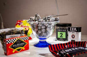 A less obvious exhibit, liquorice is also included.