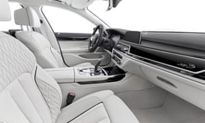 interior of the 7 series