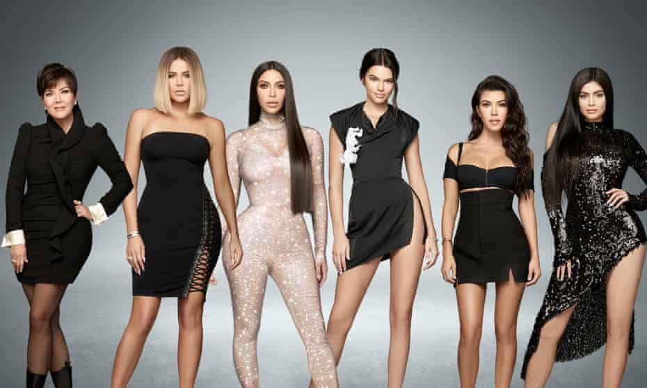 Keep on keeping up: the reality TV show Keeping Up With The Kardashians, which has run for 15 seasons.