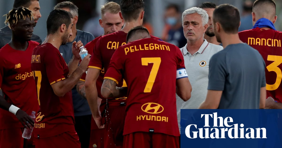 José Mourinho out to prove he can rediscover art of winning at Roma