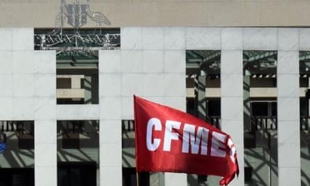 CFMEU flag