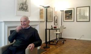 Howard Karshan in his New York home, 2014.