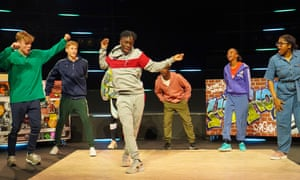 ZooNation Youth Company in Tales of the Turntable at Queen Elizabeth Hall, London.