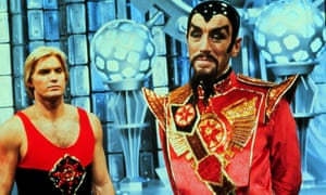 Max von Sydow as Ming the Merciless in Flash Gordon.