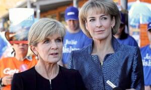Julie Bishop and Michaelia Cash