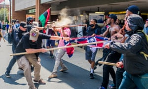 'Whether 500 or 1,500 people attended, Unite the Right was undoubtedly one of the largest explicitly extreme right rallies in recent US history.'