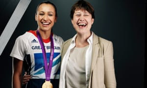 Vikki Orvice, who died in February 2019, poses with Jessica Ennis at the London Olympics.