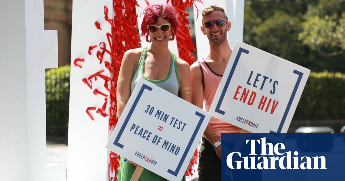 HIV rates on rise among heterosexuals in Australia | Society | The Guardian