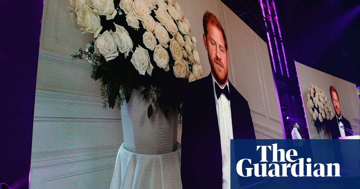 Prince Harry blames 'mass misinformation' for Covid vaccine hesitancy