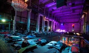 Richter's Sleep at the Berliner Festspiele's Maerz Musik Festival.