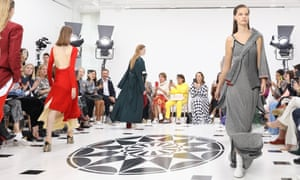 Victoria Beckham fashion show during London Fashion Week