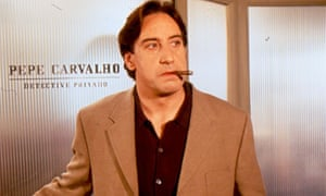 Inspector Pepe Carvalho in an adaptation of Manuel Vázquez Montalbán's novels.