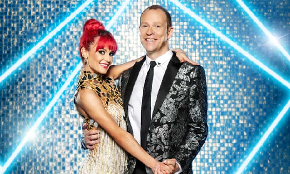 Robert Webb paid tribute to his partner, Dianne Buswell.