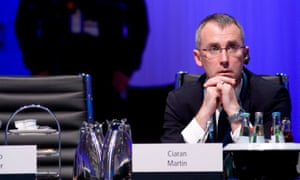 Ciaran Martin, the head of the UK's National Cyber Security Centre