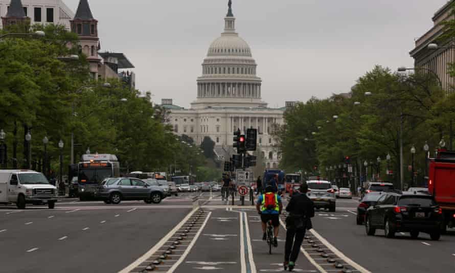The Capitol in Washington DC