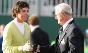Rory McIlroy won the Silver Medal as the top amateur player at The Open Championship at Carnoustie in 2007.