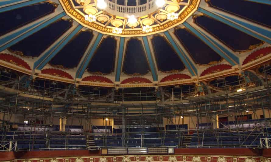 The Brighton Hippodrome, which has been unused in more than a decade.