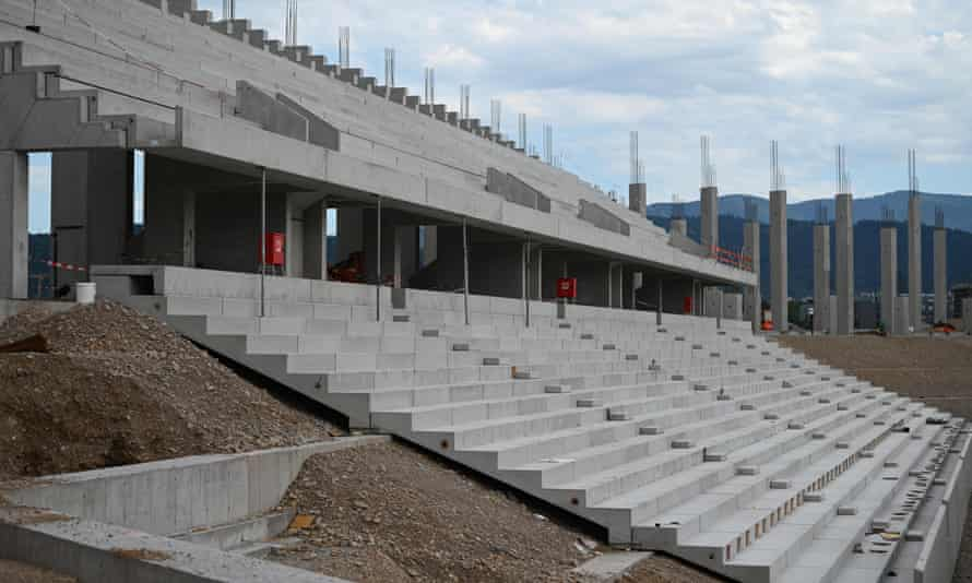 Construction is underway at Freiburg's new home, but the Bundesliga club look set to be prevented from holding games at key times in the fixture schedule.