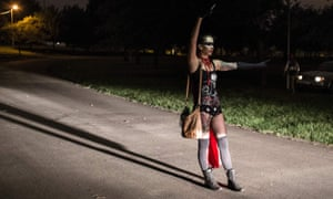 As dawn breaks over a Johannesburg park, about 300 people dance in silence. There are people dressed as Batman and Spiderman. Some women are in ballet tutus, and many have masks and painted faces. This is Secret Sunrise – a new urban craze in which people gather outside in the early morning to express themselves to a soundtrack played through their headphones.