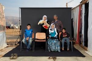 Mohammed's family.