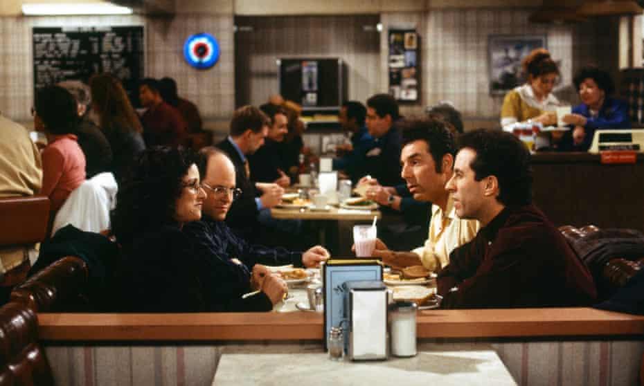 Seinfeld: Julia Louis-Dreyfus as Elaine Benes, Jason Alexander as George Costanza, Michael Richards as Cosmo Kramer, Jerry Seinfeld as himself