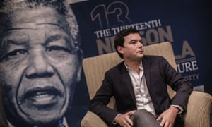 Thomas Piketty in South Africa