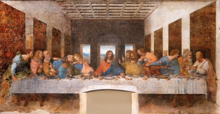 The Last Supper, which did not impress Greer.