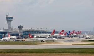 Atatürk Airport in Istanbul