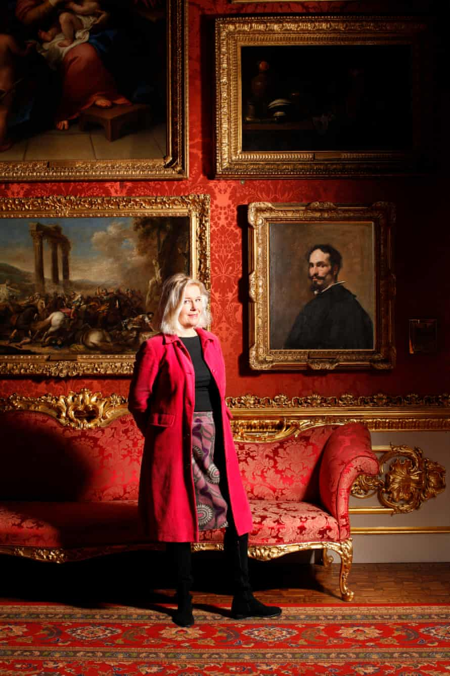 Laura Cumming beside Velázquez's Portrait of a Man at Apsley House, where John Snare would also have seen it.