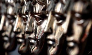 Bafta film awards statuettes