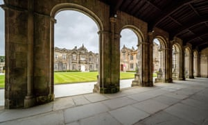 St Salvator's quad at St Andrews University, Fife