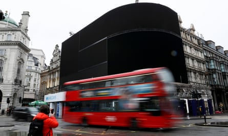 Bus in Piccadilly Circus