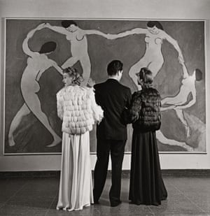 Looking at Matisse, Museum of Modern Art, 1939