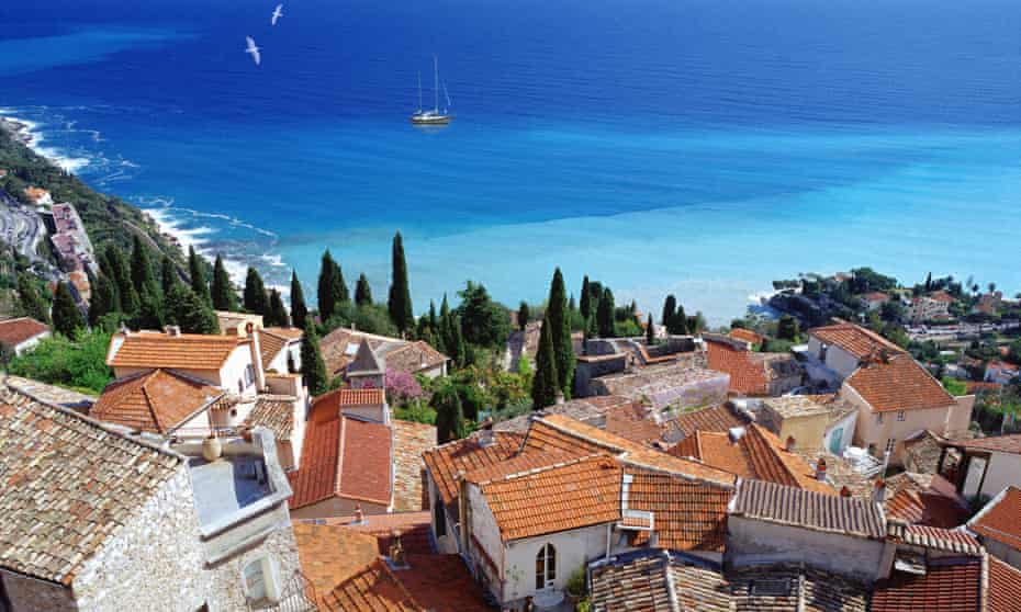 Le Corbusier chose the village of Roquebrune-Cap-Martin for his hut.