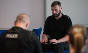 Police officers will be taught mindfulness techniques such as slower breathing during the eight-week course.