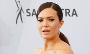 Mandy Moore at the Screen Actors Guild awards, Los Angeles, 27 January 2019.