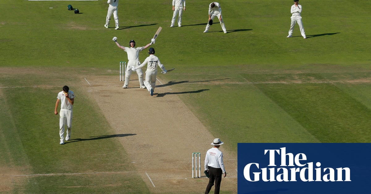 There have been 2,358 Tests since 1877 and this was the greatest of them all | Matthew Engel