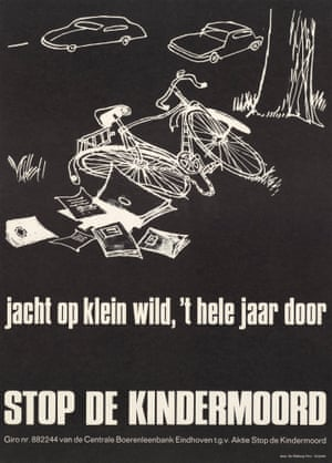 1973 A stop de kindermoord (stop murdering children) poster by Charles Boost