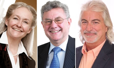 L to R: Amanda Phillips - Chief executive and executive principal of Paradigm Trust. Ian Cleland - CEO of the Academy Transformation Trust . Dr Russell Quaglia -Founder of Aspirations Academy Trust.