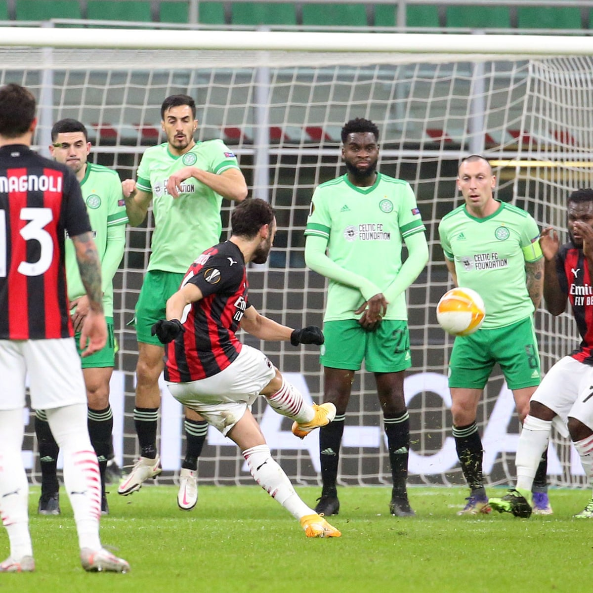 Celtic Squander Lead In Milan Defeat To Increase Pressure On Neil Lennon Europa League The Guardian